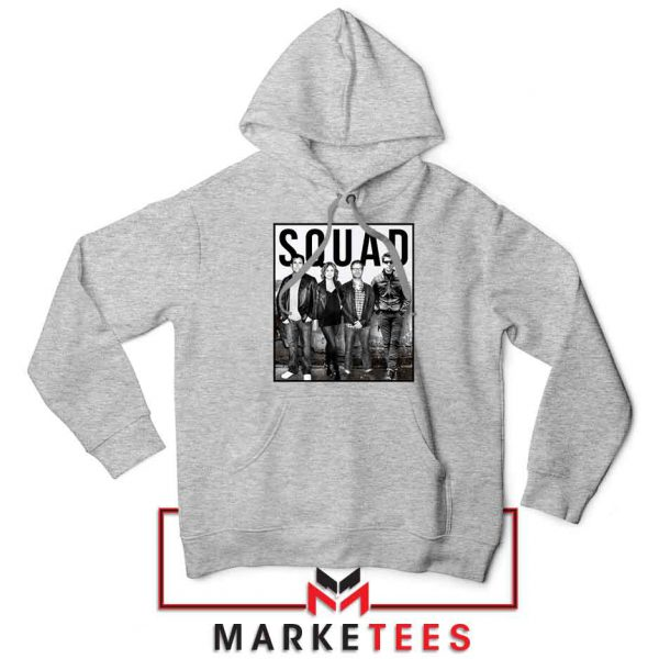 The Office Squad Sport Grey Hoodie