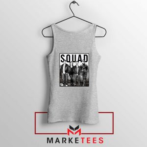 The Office Squad Sport Grey Tank Top