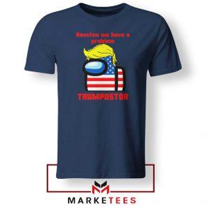 Trumpostor Navy Blue Tshirt