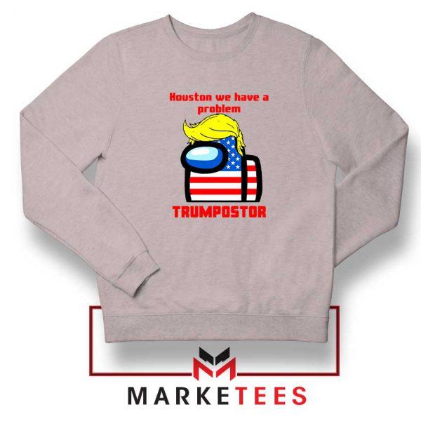 Trumpostor Sport Grey Sweatshirt
