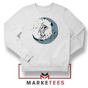 Astronaut Digging Moon Sweatshirt