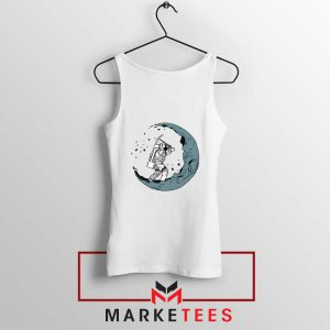 Astronaut Digging Moon Tank Top