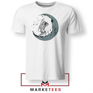 Astronaut Digging Moon Tshirt