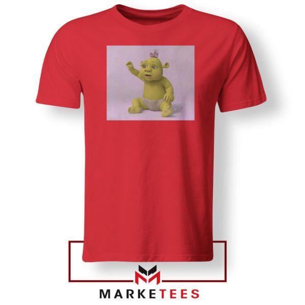 Baby Shrek Red Tshirt