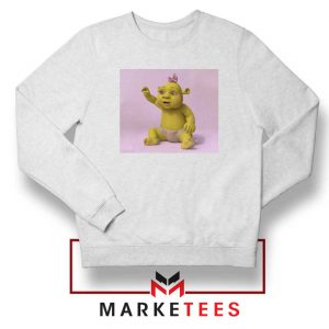 Baby Shrek White Sweatshirt