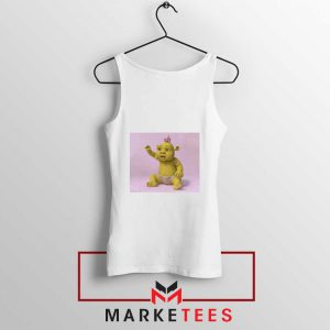Baby Shrek White Tank Top