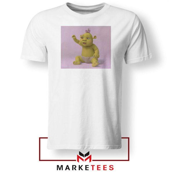 Baby Shrek White Tshirt