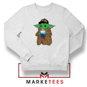 Babyyoda Bubble Tea Sweatshirt