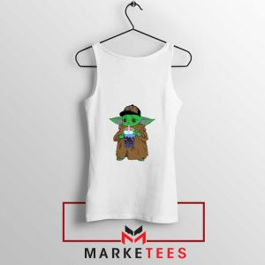 Babyyoda Bubble Tea Tank Top