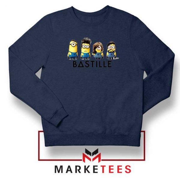 Bastille Minion Navy Blue Sweatshirt