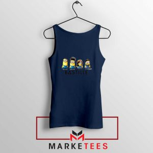 Bastille Minion Navy Blue Tank Top