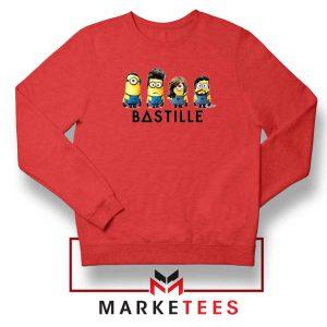 Bastille Minion Red Sweatshirt