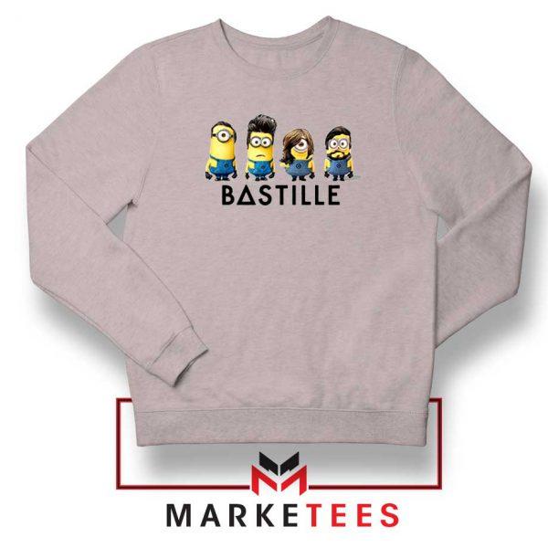 Bastille Minion Sport Grey Sweatshirt