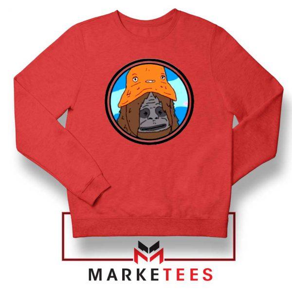 Big Lez Show Red Sweatshirt