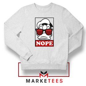 Donald Duck Nope Sweatshirt