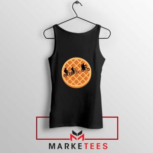 Eggo Moon Horror Black Tank Top