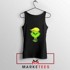Grinch Trump Black Tank Top