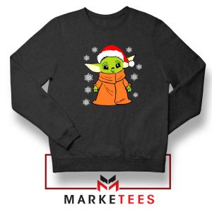 Grogu Chrismast Snow Sweatshirt