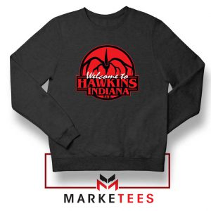 Hawkins Stranger Things Black Sweatshirt
