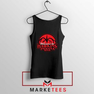 Hawkins Stranger Things Black Tank Top