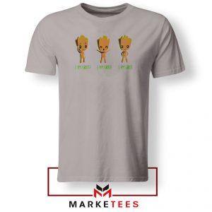 I Am Groot Sport Grey Tshirt