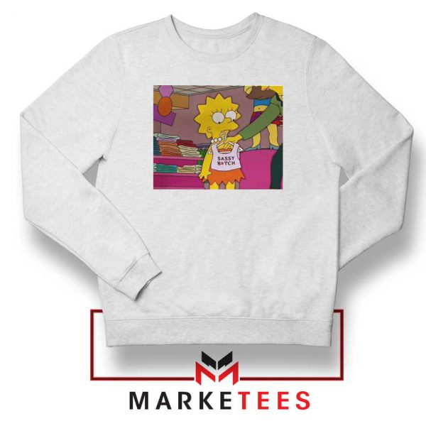 Lisa Simpson Sassy Sweatshirt