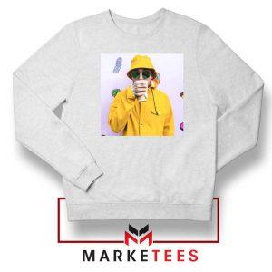 Mac Miller Singer White Sweatshirt