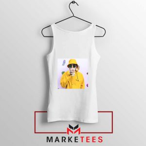 Mac Miller Singer White Tank Top