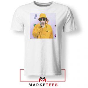 Mac Miller Singer White Tshirt