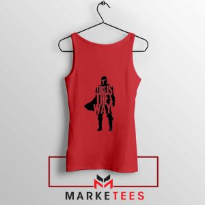 Mandalorians State This Is The Way Red Tank Top