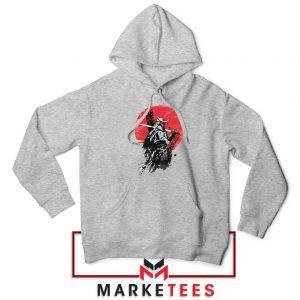 Mando Samurai Sport Grey Hoodie