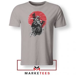 Mando Samurai Sport Grey Tshirt
