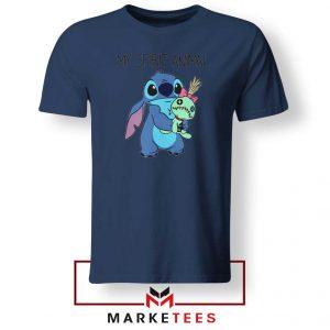 My Spirit Animal Stitch Navy Blue Tshirt