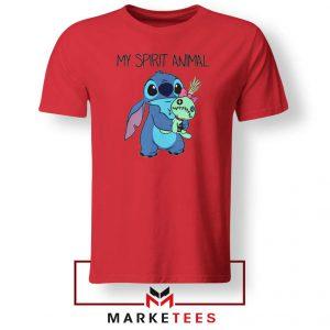 My Spirit Animal Stitch Red Tshirt