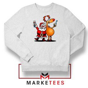 Santa and Reindeer Sweatshirt