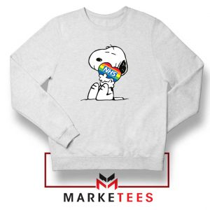 Snoopy NHS Rainbow Sweatshirt