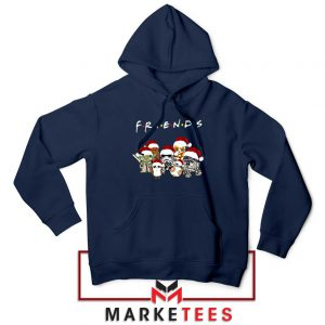 Star Wars Characters Friends Navy Blue Hoodie