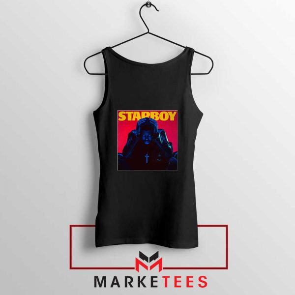 Starboy Album Black Tank Top