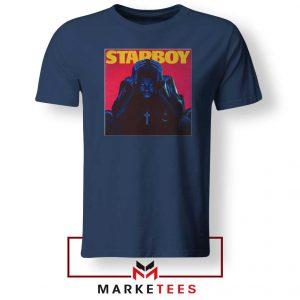 Starboy Album Navy Blue Tshirt