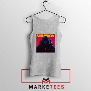 Starboy Album Sport Grey Tank Top