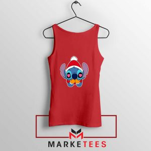 Stitch Heart Eyes Red Tank Top