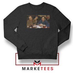 The Peep Show Black Sweatshirt