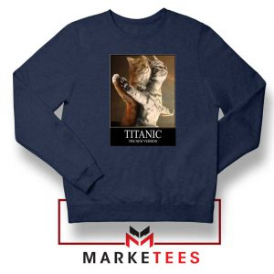 Titanic New Version Navy Blue Sweatshirt