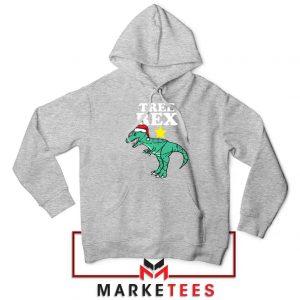 Tree Rex Xmas Sport Grey Hoodie