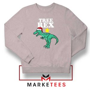 Tree Rex Xmas Sport Grey Sweatshirt
