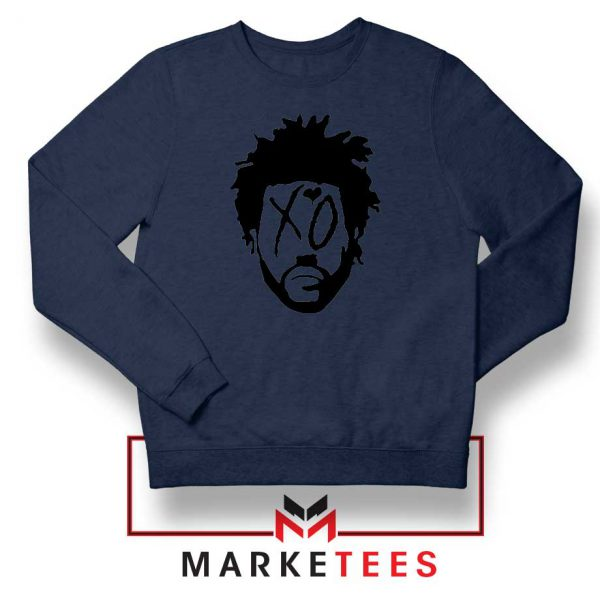 XO Record Label Navy Blue Sweatshirt