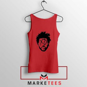 XO Record Label Red Tank Top