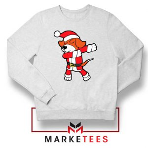 Xmas Dabbing Dog Sweatshirt