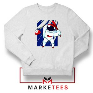 Astronaut Baseball Sport New Sweatshirt