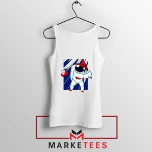 Astronaut Nasa Baseball Tank Top